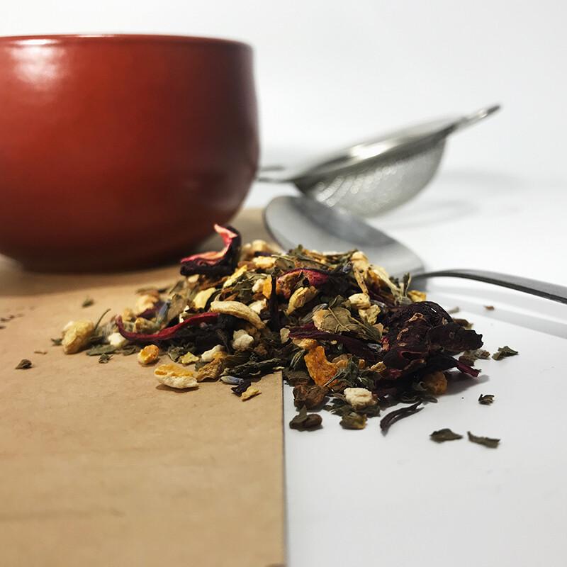 Autumn Hibiscus Tea - Prepackaged - 3 oz