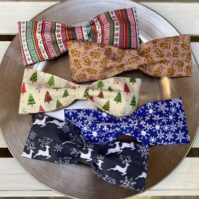 Christmas Bow tie & Flowers