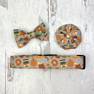 Pumpkin Latte Dog Collar