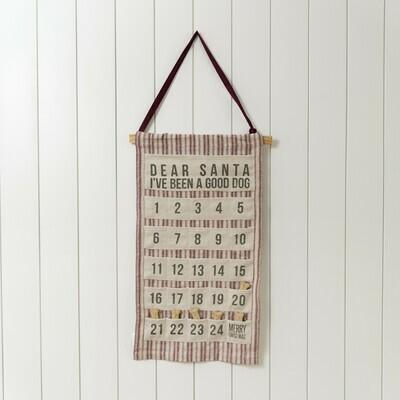 Dog Hanging Advent Calendar PREORDER