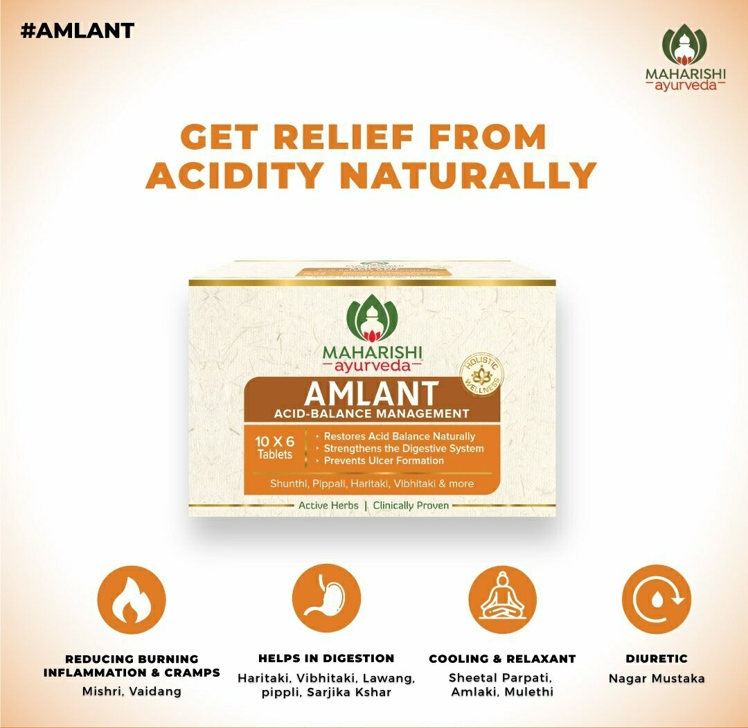 AMLANT - Acid Balance and Digestive Management Tablet