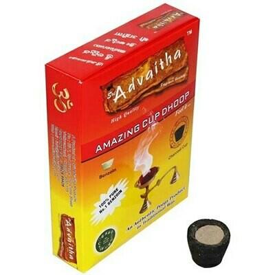 Advaitha Sambrani Dhoop Cup