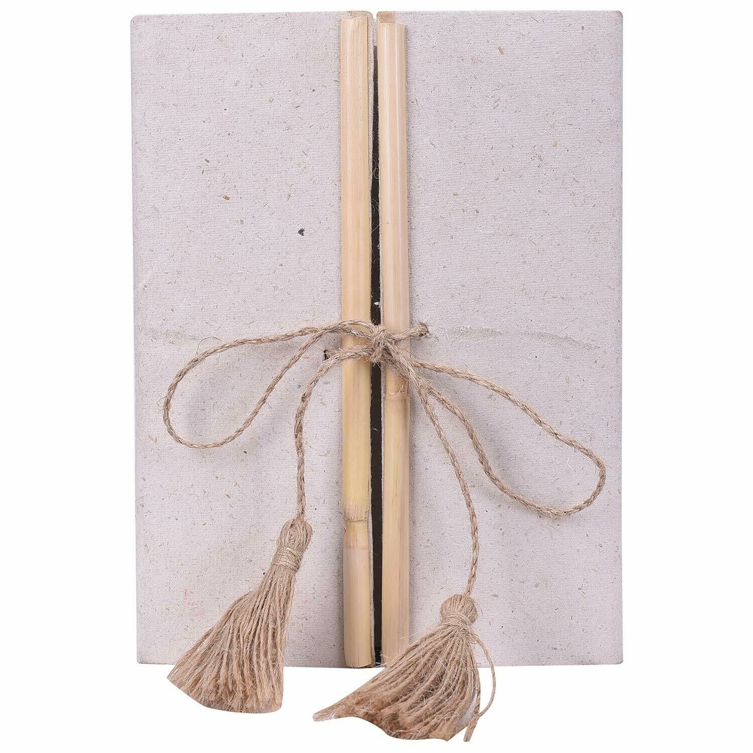Double Door Note Book, Made from Cow Dung/Gobar