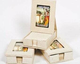 Slip With Photo Frame Made from Cow Dung/gobar