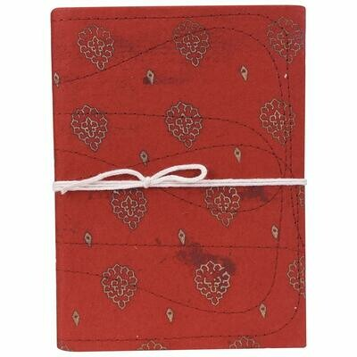 Cloth Stitch Note Book Made from Cow Dung/gobar