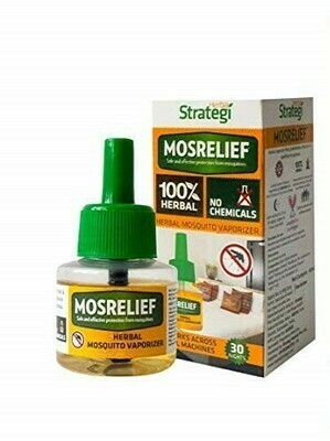 Strategi Herbal Mosquito Repellent Vaporizer 40ml