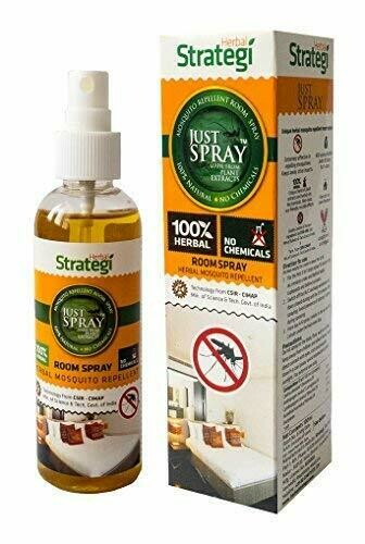 Strategi Herbal Mosquito Repellent Room Spray 100ml