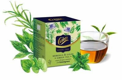 Care Moringa & Giloy Green Tea with Lemongrass