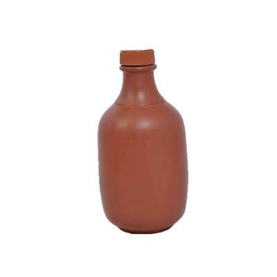 Mitticool Earthen Clay Water Bottle (1.2 LTR)