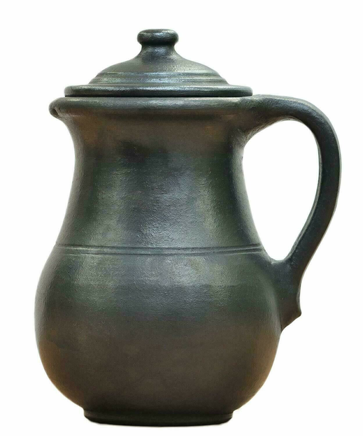 Black Mud / Clay Water Jug