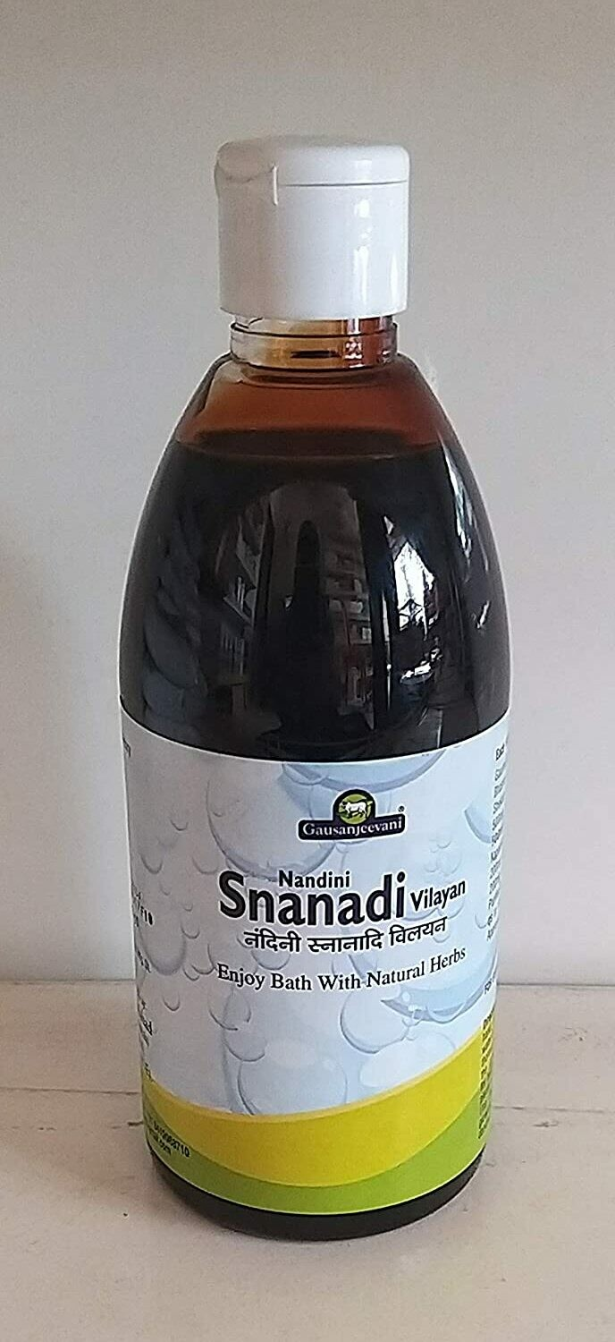 Gau Sanjeevani Nandini Snanadi Vilayan Liquid Herbal Shower Gel