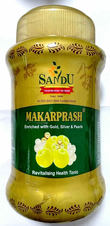 Sandu herbals Makarprash Lehya 500g - Ayurvedic