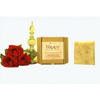 Neev Olive Rose Handmade Soap