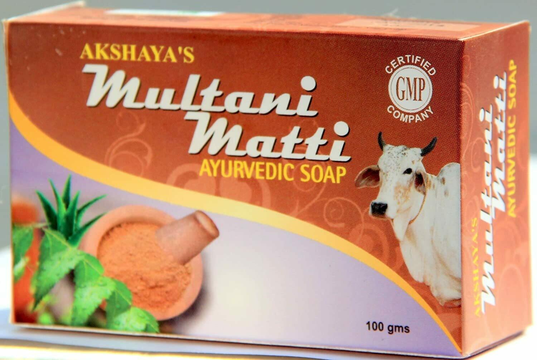 Akshaya's Multhani Mitti Ayurvedic Soap 75g