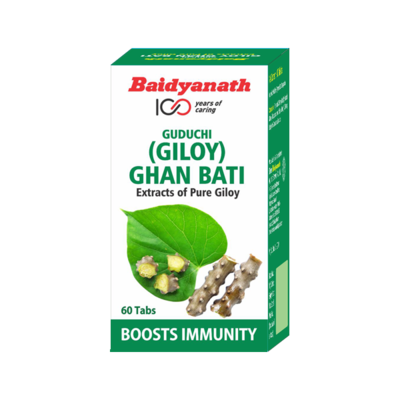 Guduchi Giloy Ghan Bati 60 tabs