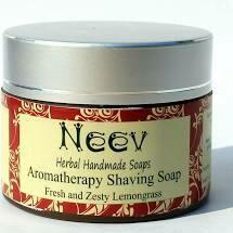 Neev Cologne Au Naturel Organic Shaving Soap Cream For Men 60g