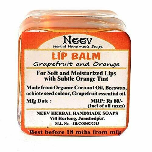 Neev Lip Balm Grapefruit and Orange 2g