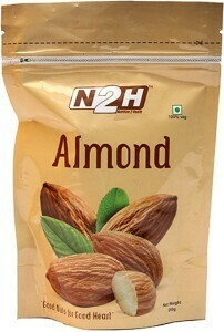 N2H Natural Almonds 200g