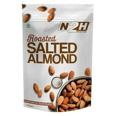 N2H Roasted Salted Almond 200g