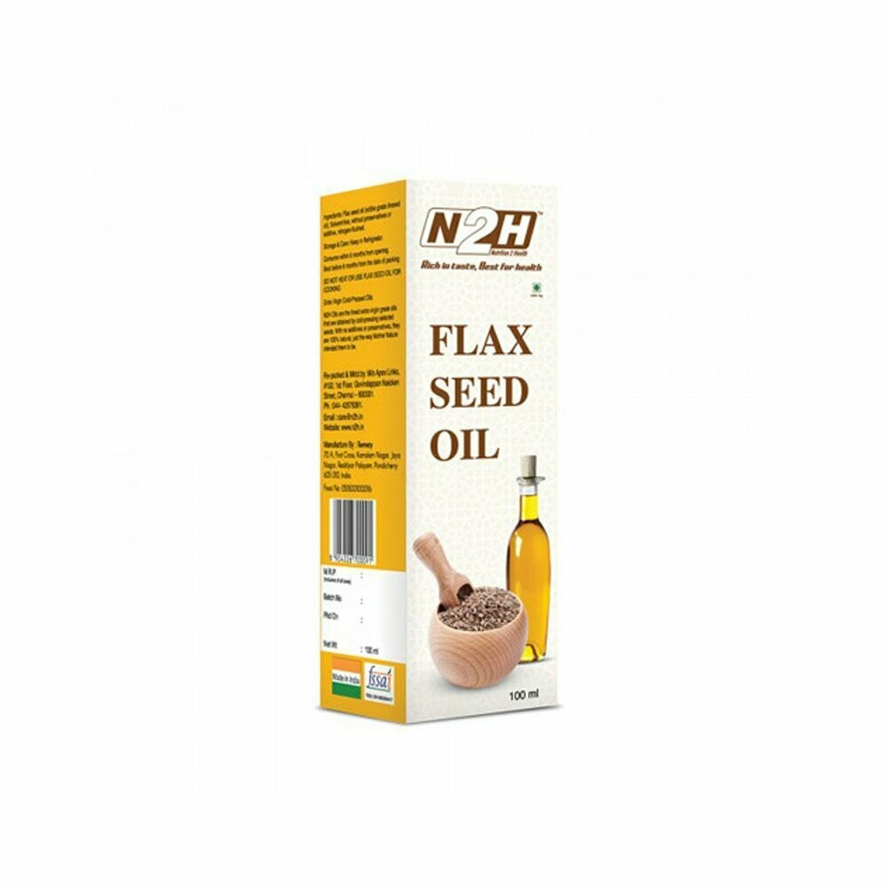 N2H Flaxseed 0il 100ml