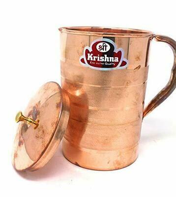 Krishna Copper Water jug 1 Litre