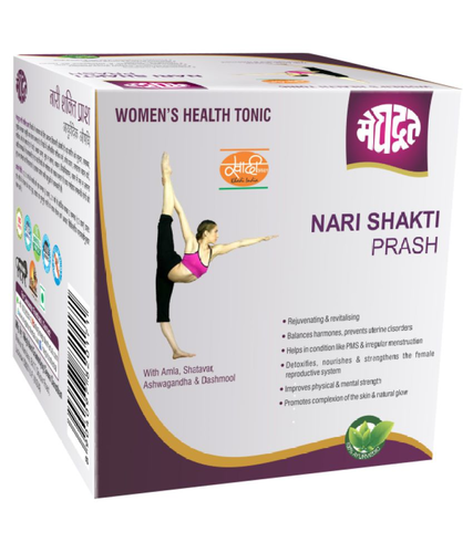 Meghdoot Ayurvedic Nari Shakti Prash Health Drink Liquid 500g Natural