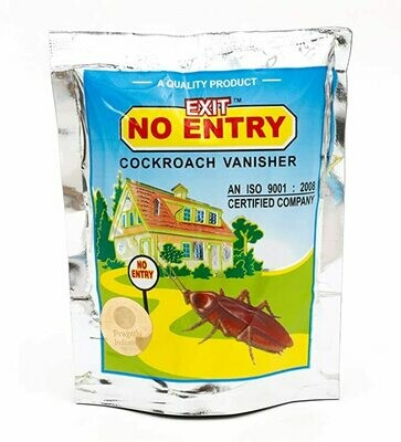 Exit No Entry Cockroach Vanisher Paste