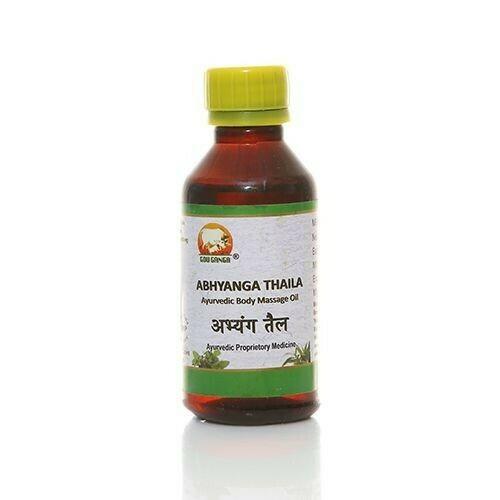 Gou Ganga Ayurvedic Body Massage Oil - Abhyanga Thaila 100ml