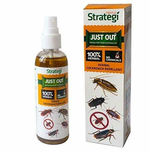 Strategi Herbal Cockroach Repellent Room Spray 100ml