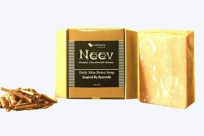 Neev Daily Skin Detox Soap Inspired by Ayurveda