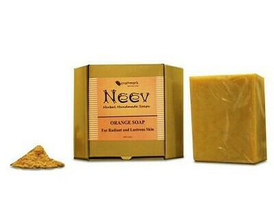 Neev Orange Soap For Radiant and Lustrous Skin