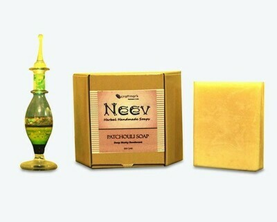 Neev Patchouli Handmade Soap - A deep Musky Natural Deodrant
