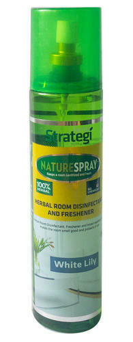Strategi Herbal White Lily Room Disinfectant & Freshner –  250ml