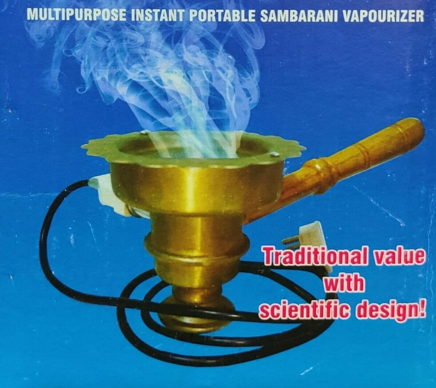 Electric Sambrani with Good Quality Heavy Duty Coil