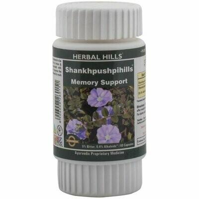 Herbal Hills Shankhpushpihills Memory Support 60Capsules