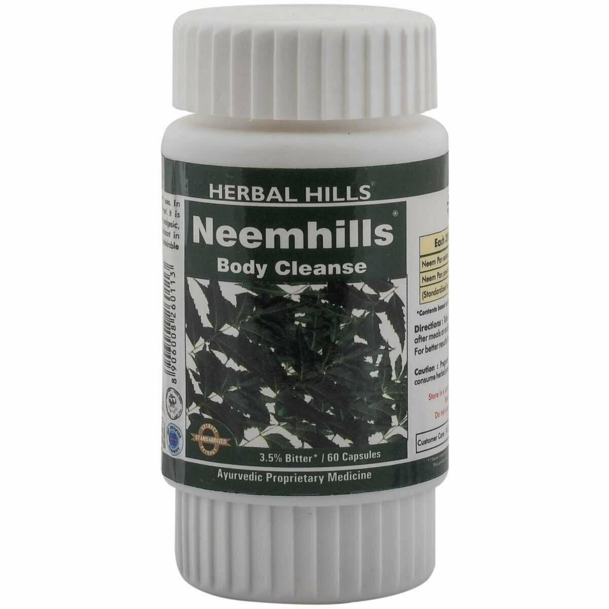 Herbal Hills Neemhills 60Capsules
