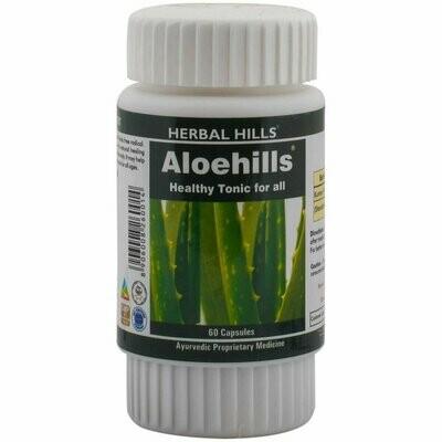 Herbal Hills Aloehills Aloevera 60Capsules