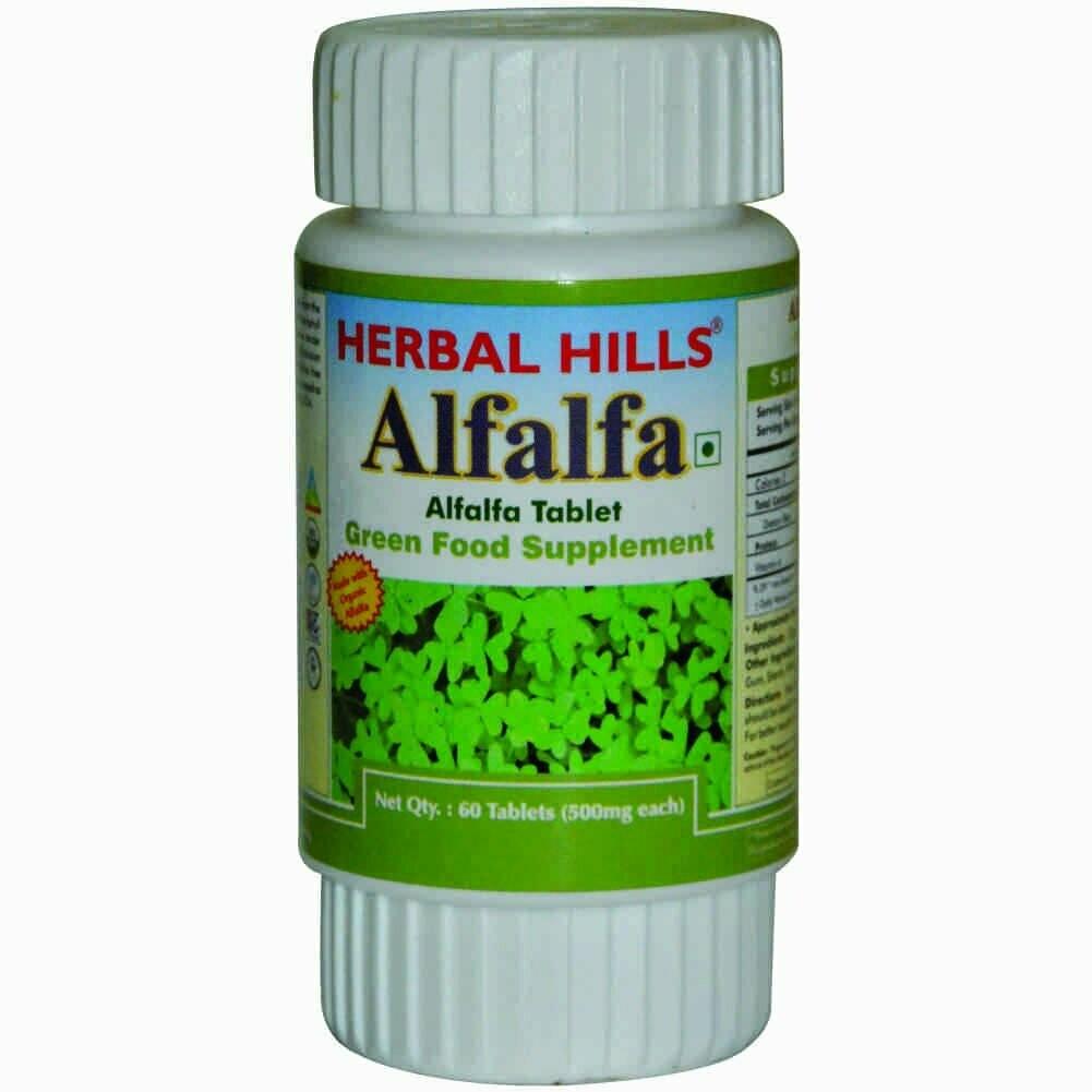 Herbal Hills Alfalfa 60Tablets