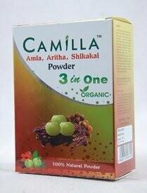 Camilla Amla, Aritha, Shikakai Powder 3 in 1 100g