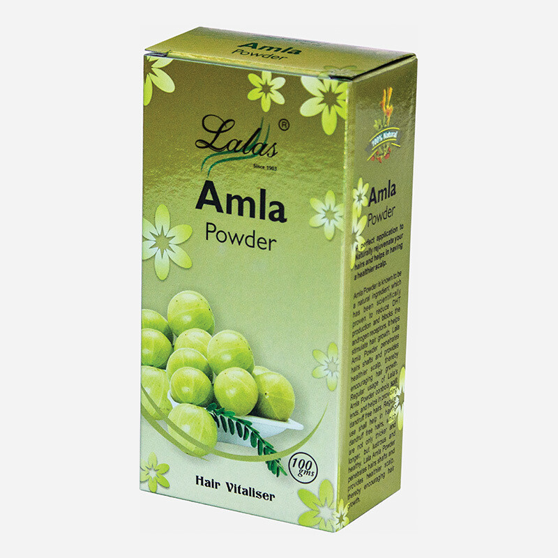 Lalas Amla Powder - Hair Vitalizer 100g