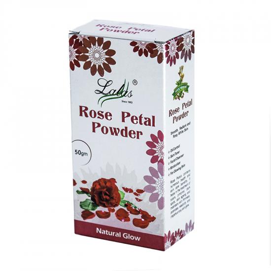 Lalas Rose Petal Powder 50g