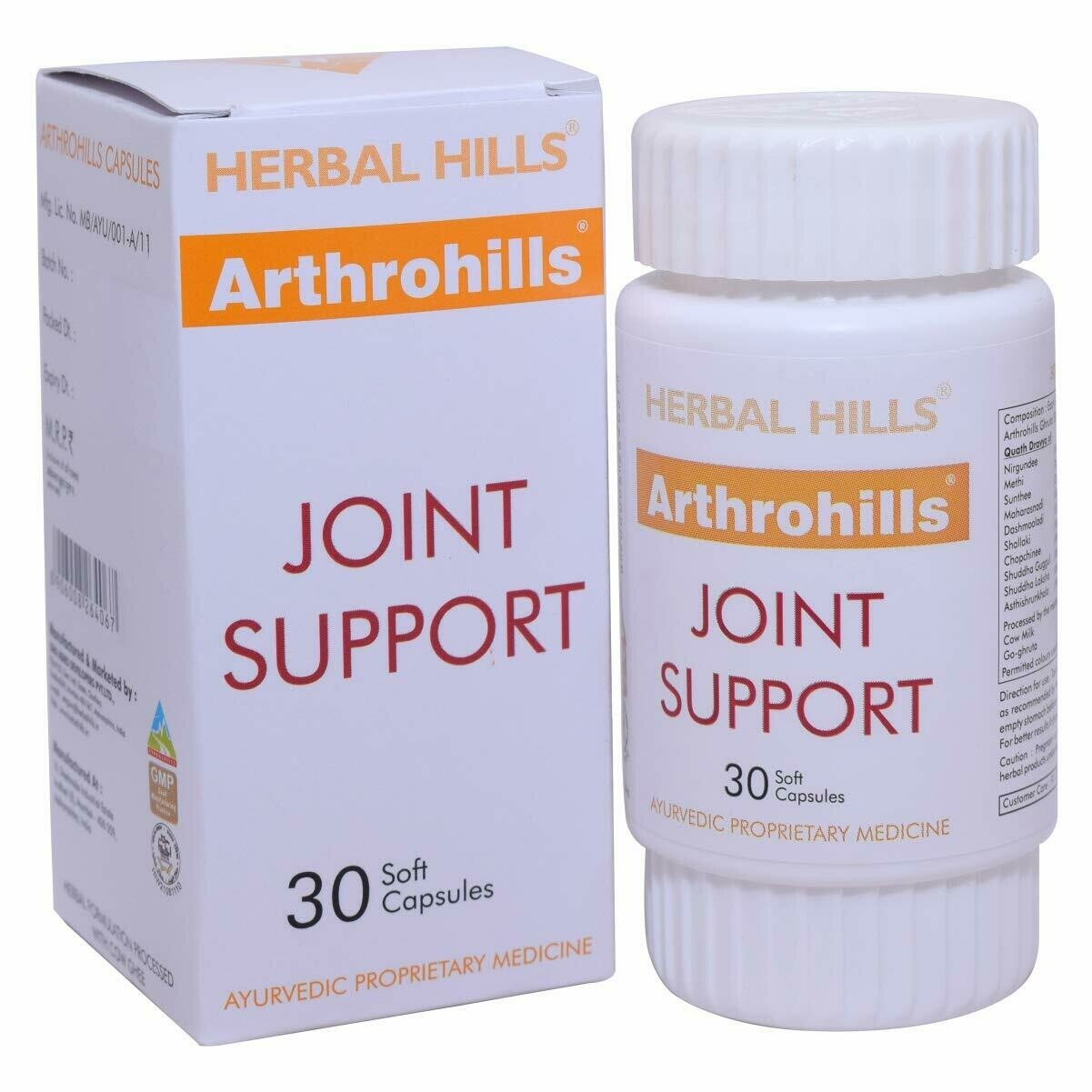 Herbal Hills Arthrohills for Joint Care  30Capsules