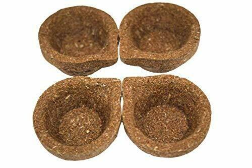 Panchagavya Desi Cow Dung Gobar Diya Deepam for Pooja  and Karthikai Deepam - Eco-Friendly 12pcs Kit