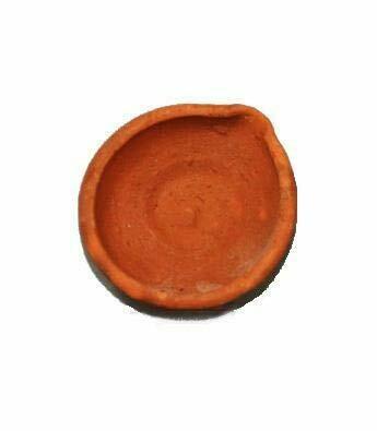 Terracotta Mitti Diya 12pcs kit