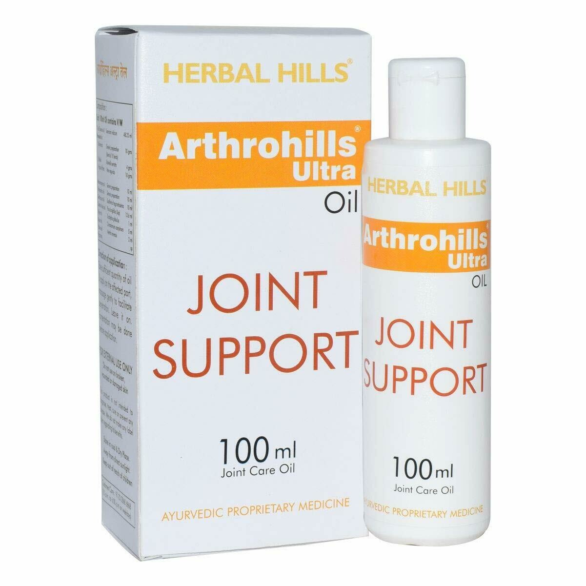 Herbal Hills Arthrohills Ultra Oil Joint Support 100ml
