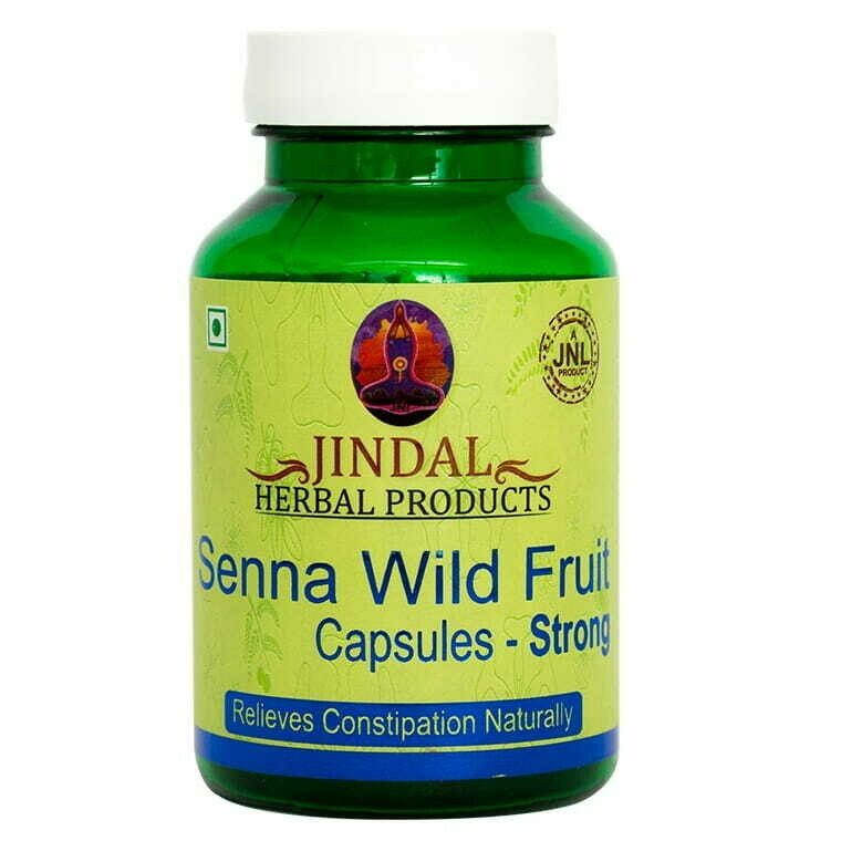 Jindal Herbal Senna Wild - Fruit Strong 60Capsules