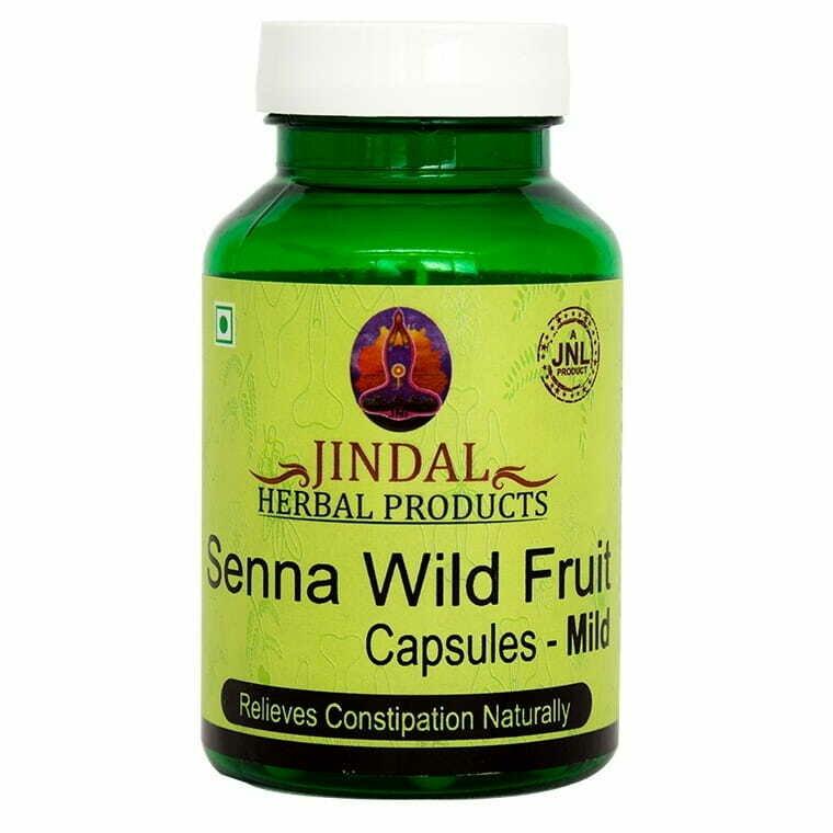 Jindal Herbal Senna Wild - Fruit Mild 60Capsules