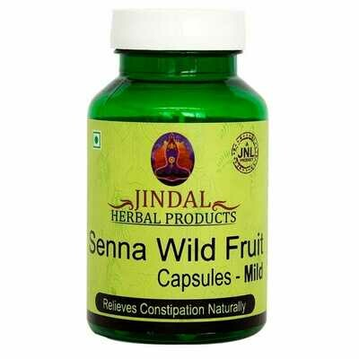 Jindal Herbal Senna Wild - Fruit Mild 60Capsules