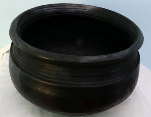 Black Mud / Clay Biriyani Pot