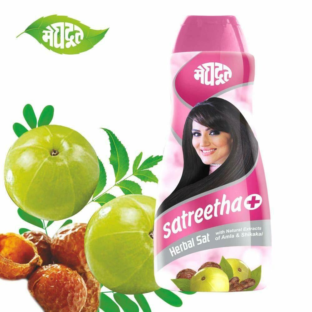 Meghdoot Satreetha Plus Shampoo 200ml